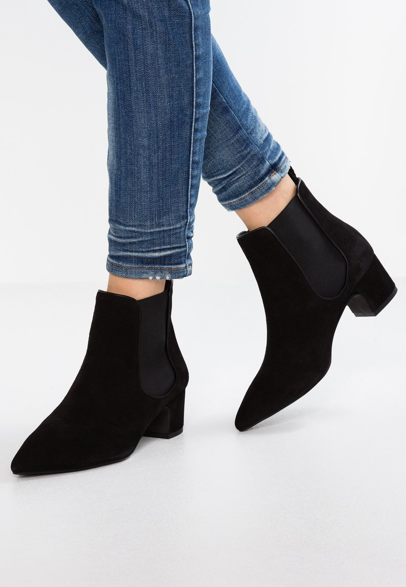 mint&berry - Boots à talons - black