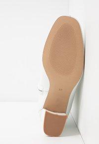 mint&berry - Šněrovací kotníkové boty - white - 6