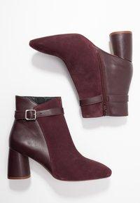 mint&berry - Kotníkové boty - bordeaux - 3