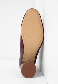 mint&berry - Kotníkové boty - bordeaux - 6