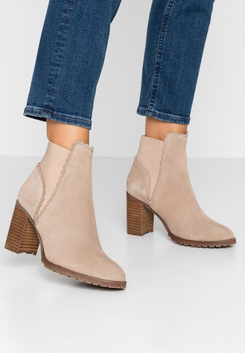 mint&berry - Classic ankle boots - nude