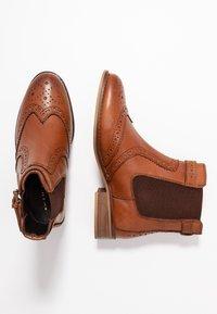 mint&berry - Classic ankle boots - cognac - 3