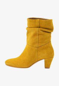 mint&berry - Classic ankle boots - yellow - 1