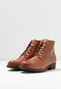 mint&berry - Ankle boot - cognac - 4