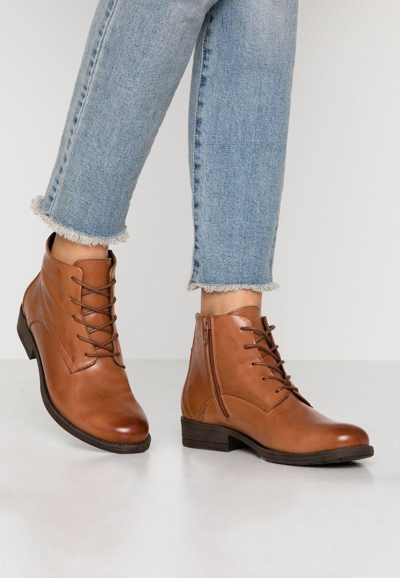 mint&berry - Ankle boot - cognac