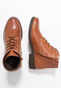 mint&berry - Ankle boot - cognac - 3