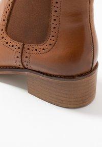 mint&berry - Ankle boots - cognac - 2