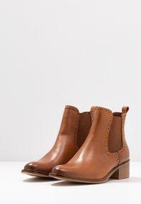 mint&berry - Ankle boots - cognac - 4
