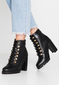 mint&berry - High heeled ankle boots - black - 0