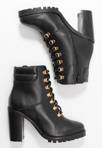 mint&berry - High heeled ankle boots - black - 3