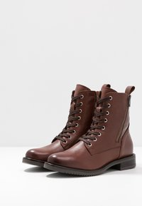 mint&berry - Lace-up ankle boots - brown - 4
