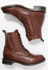 mint&berry - Lace-up ankle boots - brown - 3