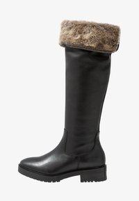 mint&berry - Vysoká obuv - black - 1