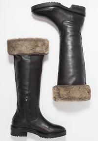 mint&berry - Vysoká obuv - black - 3