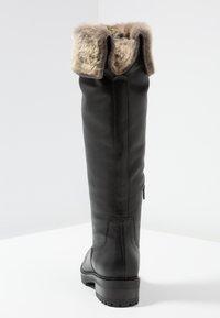 mint&berry - Vysoká obuv - black - 5