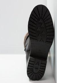 mint&berry - Vysoká obuv - black - 6