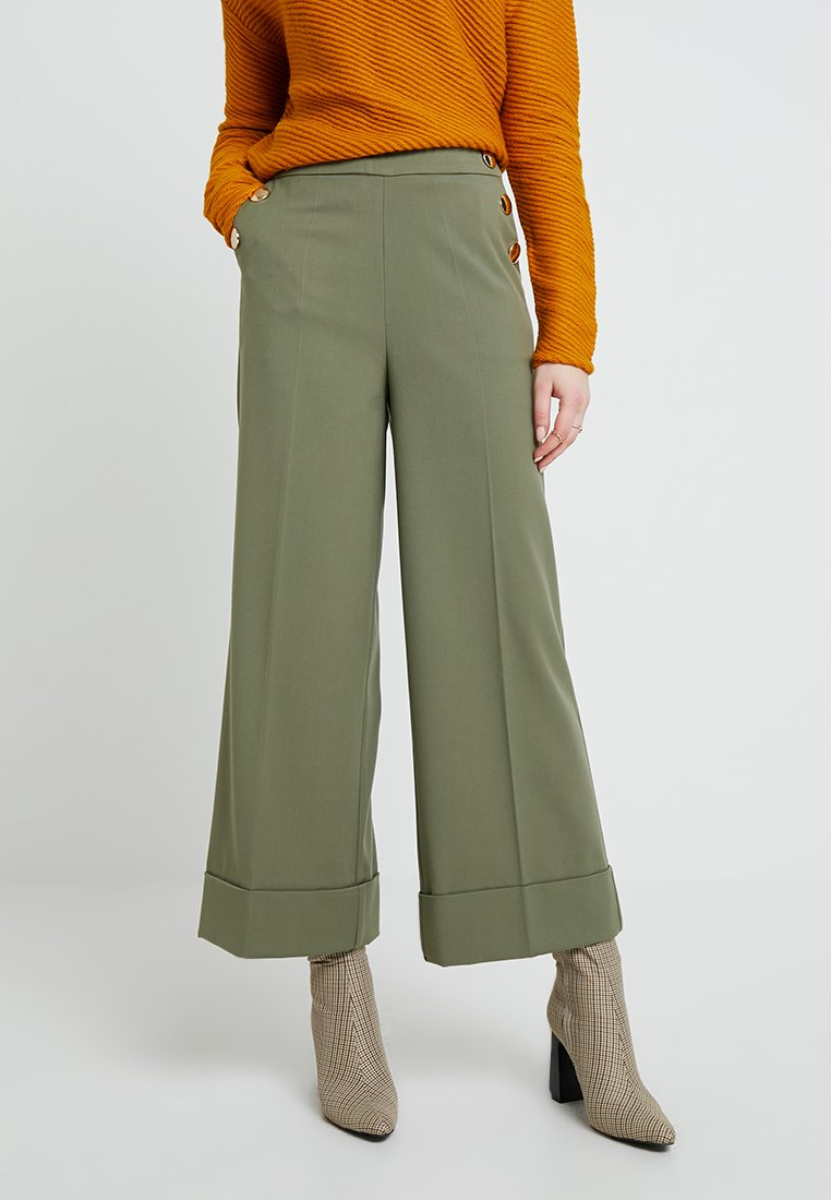 mint&berry - Trousers - deep lichen green