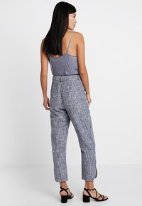 mint&berry - Trousers - dark blue/off-white - 2