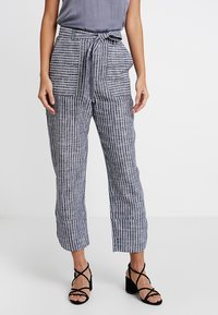 mint&berry - Trousers - dark blue/off-white - 0