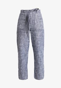 mint&berry - Trousers - dark blue/off-white - 3