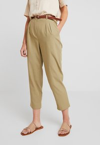 mint&berry - Trousers - khaki - 0