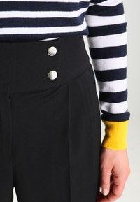 mint&berry - Spodnie materiałowe - black - 3