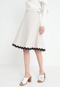 mint&berry - A-line skirt - lunar rock - 0