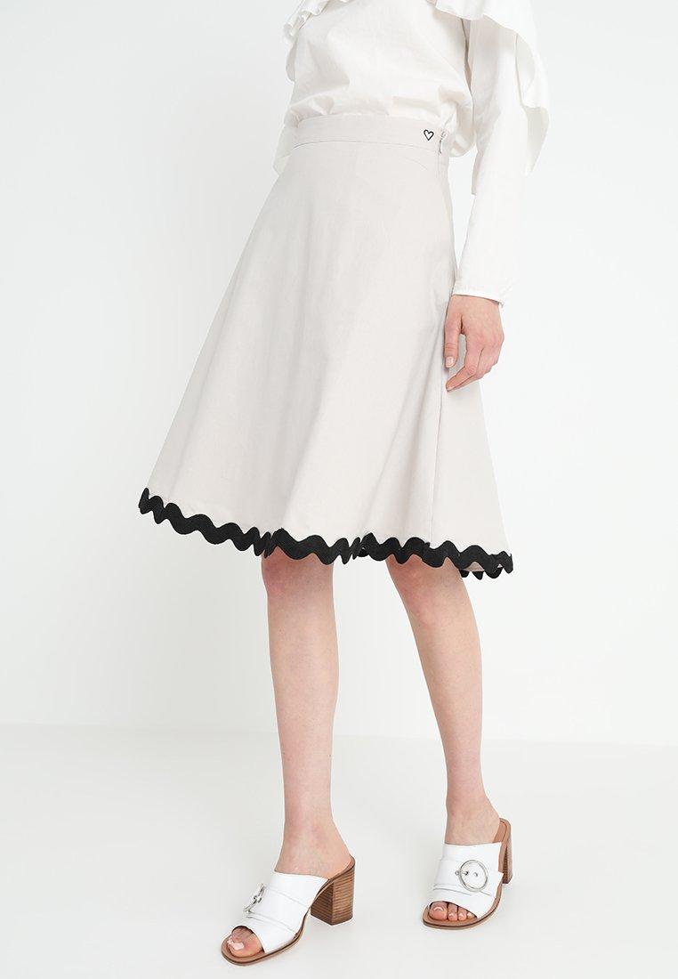 mint&berry - A-line skirt - lunar rock