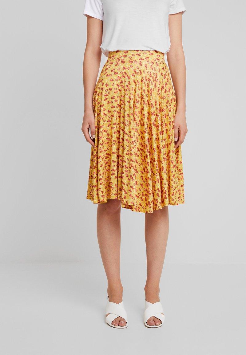 mint&berry - A-line skirt - yellow