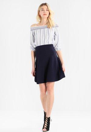 Áčková sukně - navy blue