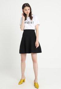 mint&berry - A-line skirt - black - 1
