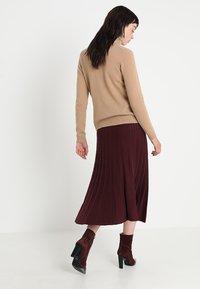 mint&berry - Maxi skirt - windsor wine - 2