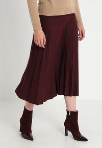 mint&berry - Maxi skirt - windsor wine - 0