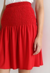 mint&berry - A-line skirt - chinese red - 4