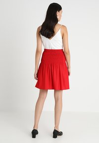 mint&berry - A-line skirt - chinese red - 2