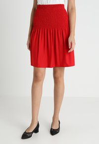mint&berry - A-line skirt - chinese red - 0