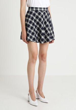 A-line skirt - medieval blue