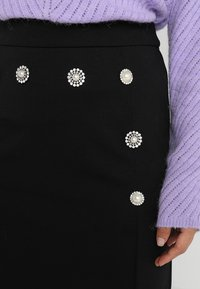 mint&berry - Pouzdrová sukně - black - 4