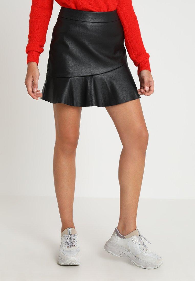 mint&berry - Minifalda - black