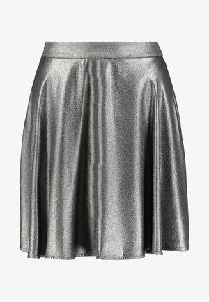 Áčková sukně - silver