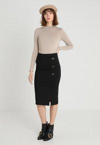 mint&berry - Pencil skirt - black - 1