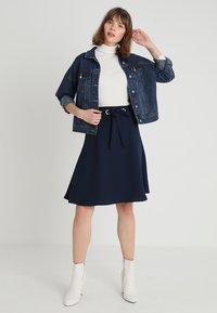 mint&berry - A-snit nederdel/ A-formede nederdele - dark blue - 1