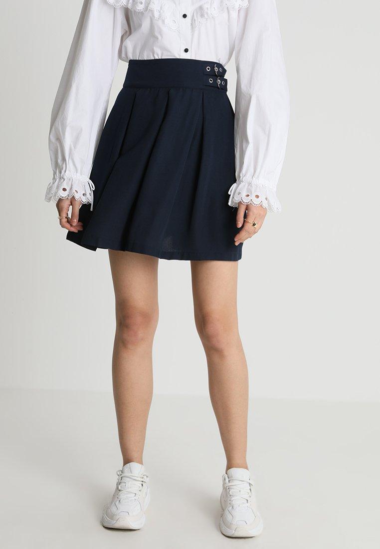 mint&berry - Áčková sukně - navy blazer