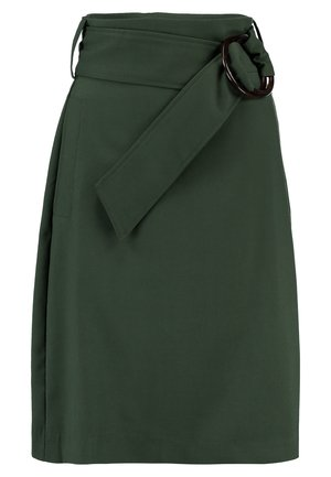 Pencil skirt - kombu green