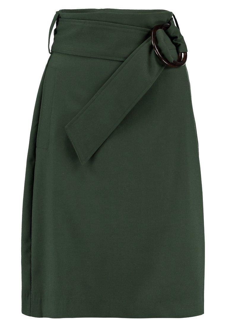 mint&berry - Pencil skirt - kombu green