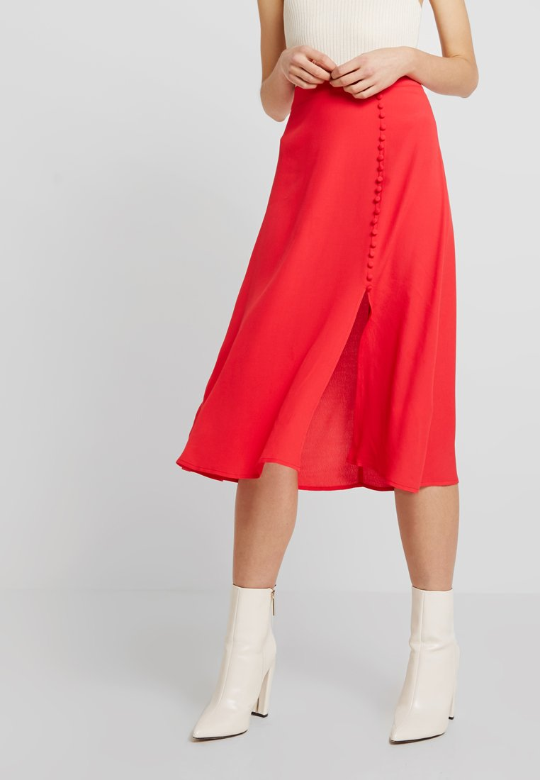 mint&berry - SKIRT - A-Linien-Rock - chinese red