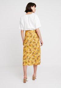 mint&berry - A-lijn rok - yellow/black - 2