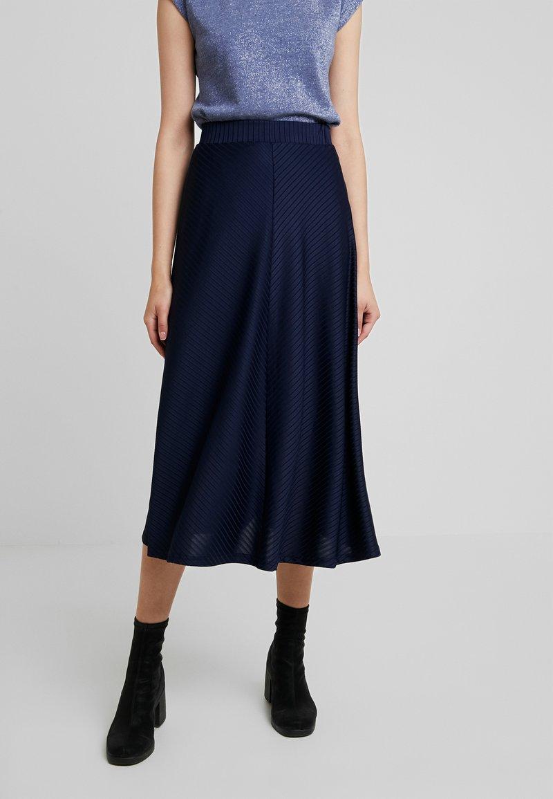 mint&berry - Maxi skirt - maritime blue
