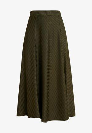 Maxi skirt - olive night
