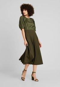 mint&berry - Maxi skirt - olive night - 2